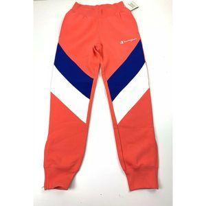Champion  Orange Reverse Weave Mens Joggers